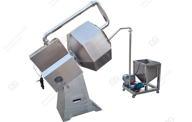 Octagonal Potato Chips Seasoning Machine