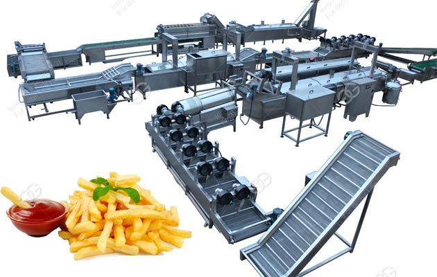 Frozen French Fries Processing Line Manufacturer