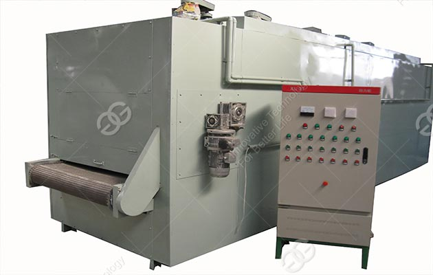 High Efficiency Belt Type Peanut Roasting Machine