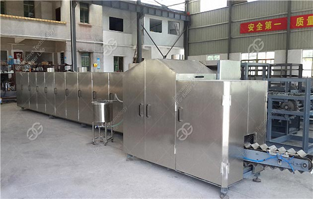Full Automatic Wafer Cone Making Machine Model M