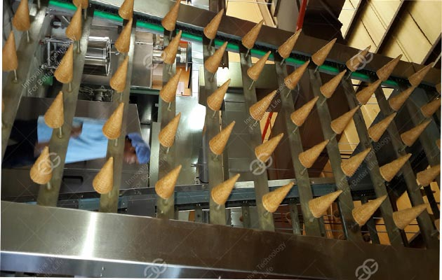 <b>Full Automatic Ice Cream Cone production line A</b>