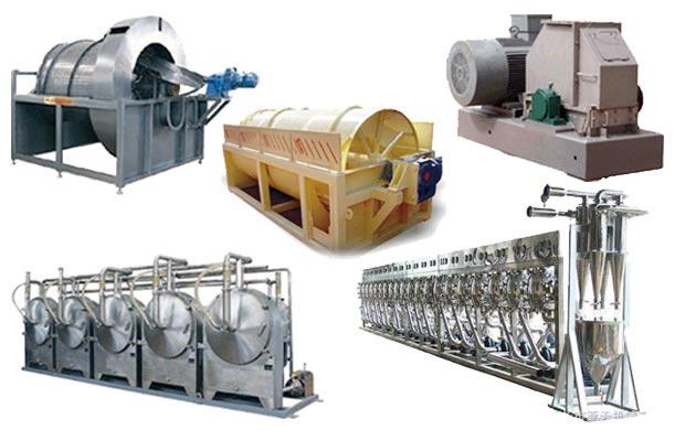 Sweet Potato Starch Processing Equipment 2000kg/h