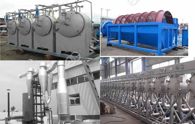 Cassava Starch Processing Plant 500kg/h
