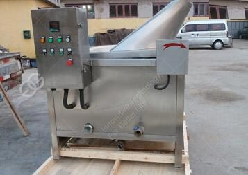 Automatic Chips Frying Machine Sold to Burma