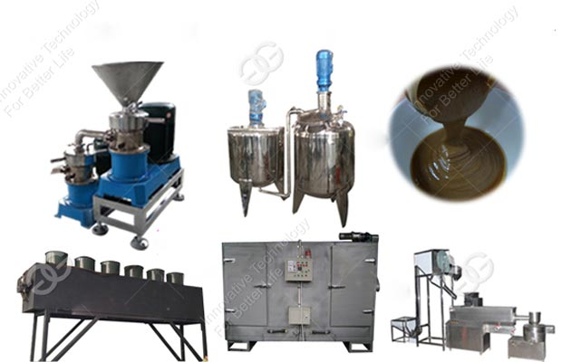 High Quality Automatic Sesame Tahini Processing Line Manufacturer(300 Kg/h)