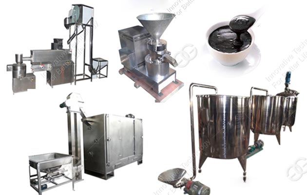 500KG/H Commercial Sesame Paste Production Line High Quality