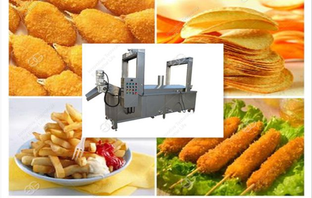 Quality Fryer Machine for Pani Puri Frying