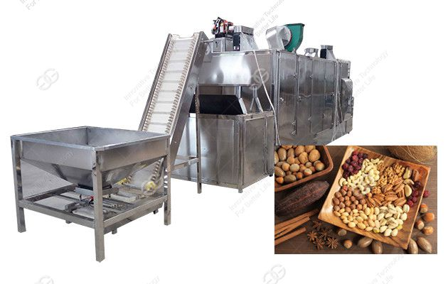 Continuous Belt Conveyor Roaster Shipped to Australia