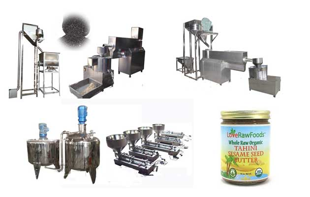 Sesame Butter Plant Line for Test