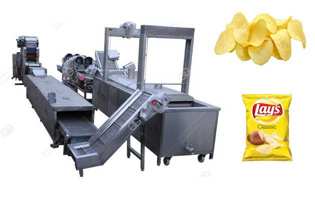 Potato Chips Processing Plant 300kg/h