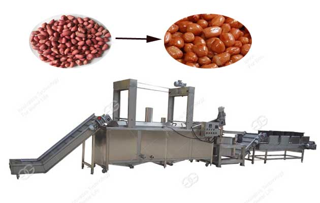 Peanut Frying Processing Line 300kg/h