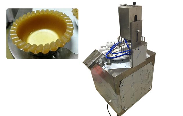 Rotary Egg Tart Skin Maker Machine