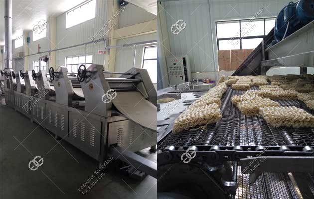 Fried Instant Noodle Production Line Sold to Bangladesh
