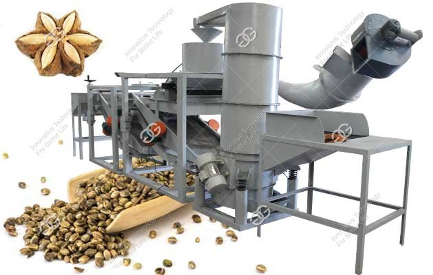Sacha Inchi Nut Shelling Machine|Hemp Seed Dehuller