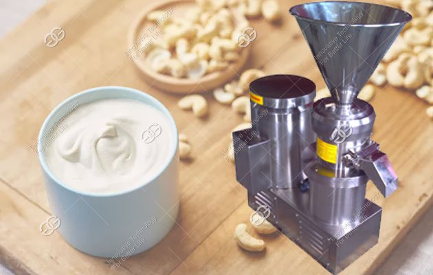 Cashew Cream Grinding Machine|Cashew Sauce Making Machine