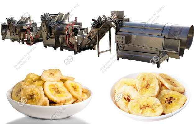 High Quality Plantain Chips Processing Machine Plant 1000KG/H