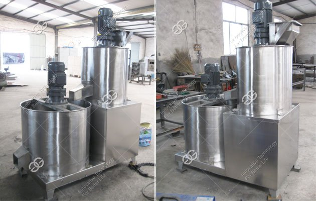 Automatic Sesame Seed Peeling Machine Shipped to Poland