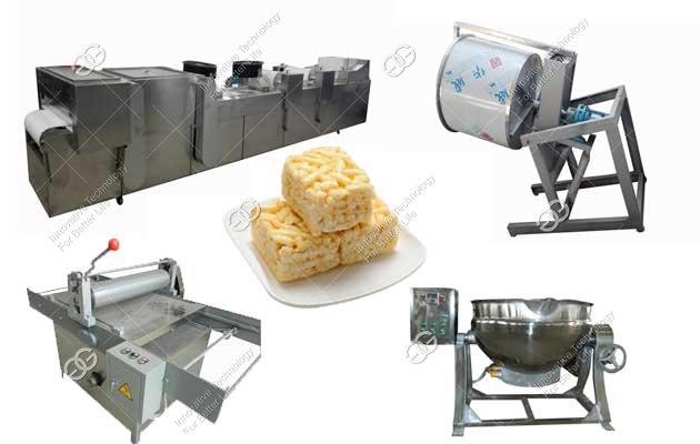 <b>Automatic Sachima Production Line|Asian Rice Krispies Making Machine</b>