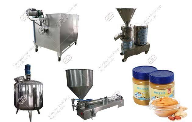 Commercial Peanut Butter Processing Plant Quotation(300 kg/h)