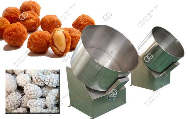 Flour Coated Peanuts Making Machine|Savoury Coated Peanut Equipment
