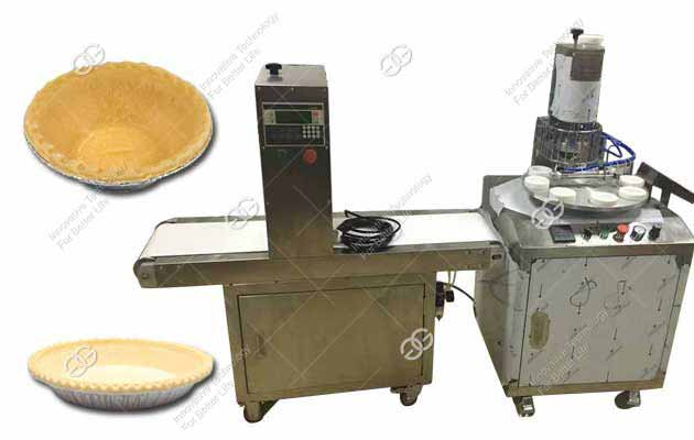 1500PCS/H Egg Tart Shell Making Machine with Customizable Mold