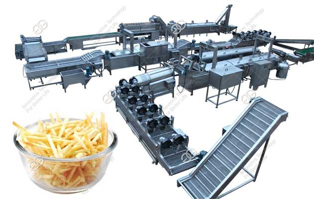 French Fries Making Machine|Finger Chips Production Line Quotation