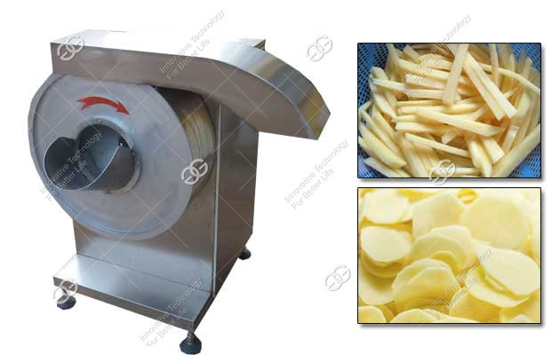 French Fries Cutting Machine|Commercial Potato Chips Slicer