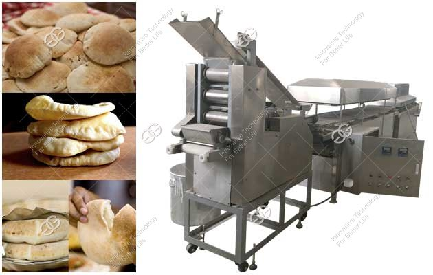 Tortilla Bread Making Machine|Arabic Pita Bread Production Line