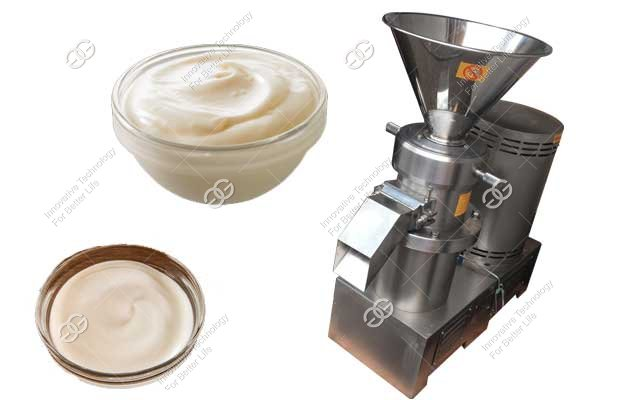 Industrial Garlic Paste Grinder Machine|Mayonnaise Sauce Making Machine