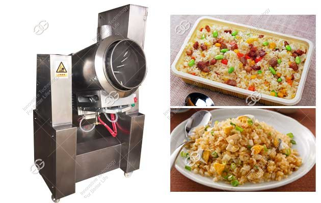 Fried Rice Machine Manufacturer|Automatic Fried Noodle Making Machine