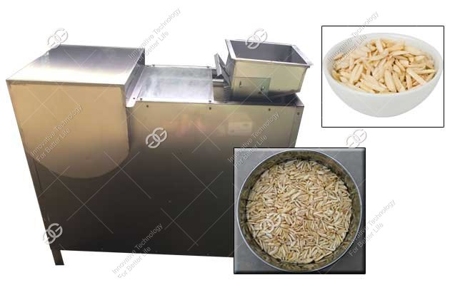 Industrial Almond Slivering Machine|Badam Pista Cutting Machine