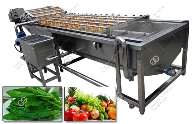 Commercial Vegetables Bubble Washing Machine Manufacturer