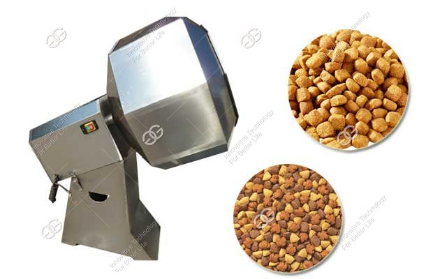 Octagonal Snack Seasoning Machine|Dog Food Flavoring Machine Manufacturer