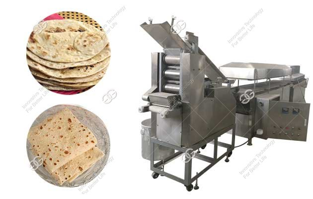 Commercial Arabian Kuboos Making Machine|Automatic Chapati Maker