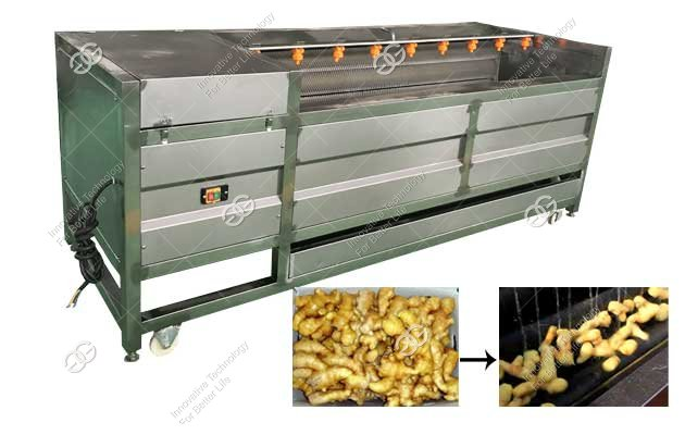 Ginger Cleaning Machine|Cassava Washing and Peeling Machine Nigeria