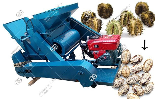 Castor Sheller Machine|Castor Seed Shelling Machine for Castor Plant