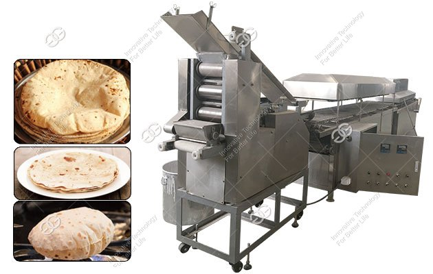 Automatic Indian Phulka Roti Making Machine for Commercial