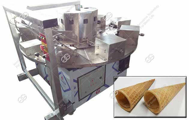 500PCS/H Ice Cream Waffle Cone Manufacturing Machine Quotation