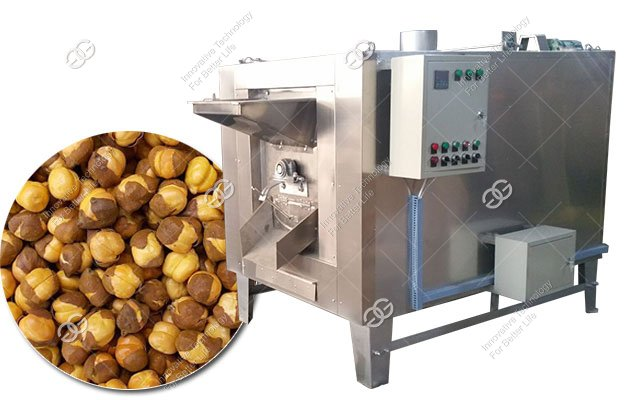 100KG/H Industrial Chana Roaster Machine|Chickpea Roasting Machine Electric