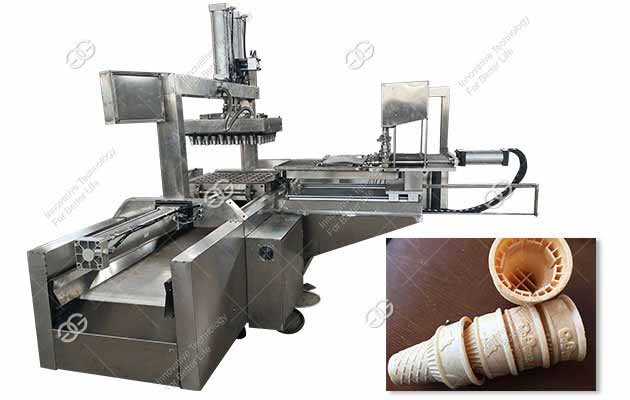2500PCS/H Automatic Wafer Cone Making Machine Price