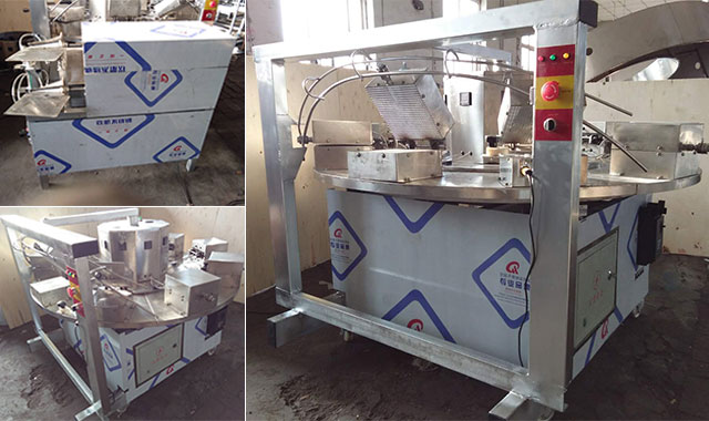 Commercial Waffle Cone Machine Shipped to Jordan