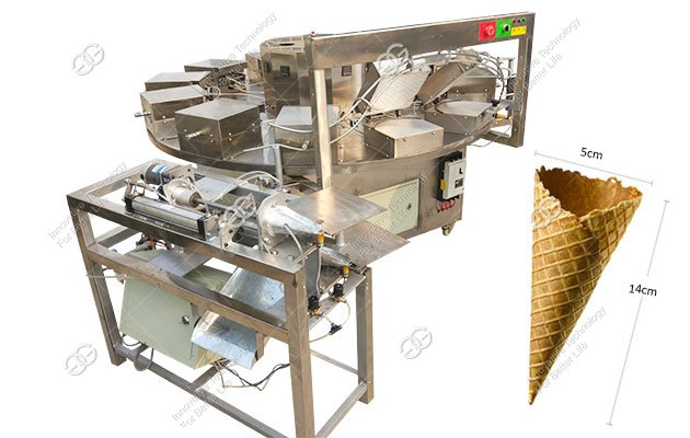 China 600PCS/H Ice Cream Cornetto Baking Machine Price