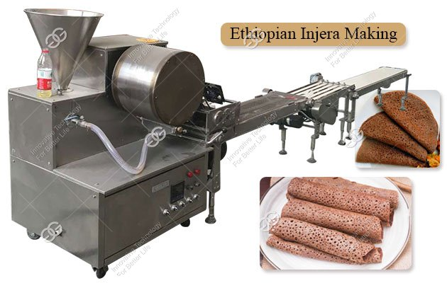Automatic Electric Injera Baking Machine Price 0.3-2MM THK