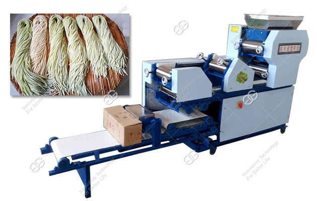 150KG/H Stainless Steel Fresh Noodles Making Machine Commercial