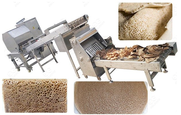 High Capacity Ethiopian Flatbread Making Machine Supplier