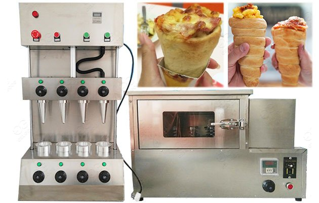 GELGOOG Pizza Dough Cone Forming Machine In Stainless Steel