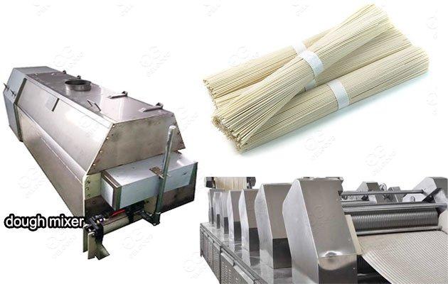 <b>300KG/H Stick Noodles Making Machine For Sale in Low Price</b>