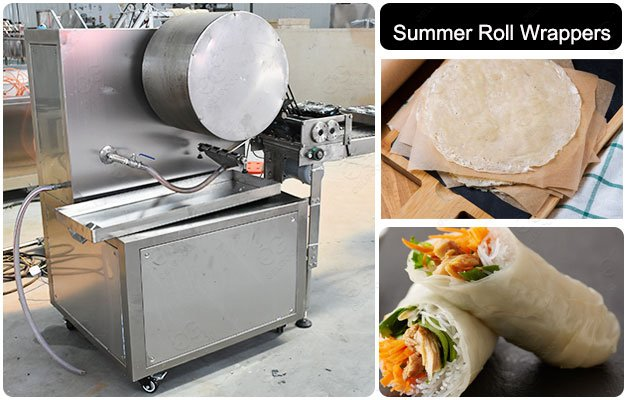 Vietnam Automatic Summer Roll Wrappers Making Machine