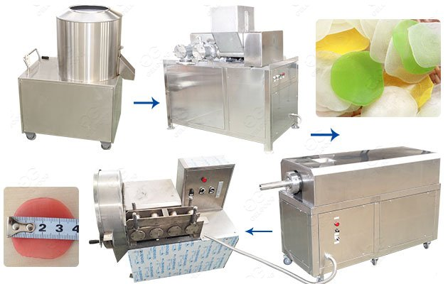 Kerupuk Bawang Recipe Making Machine|Prawn Crackers Machine