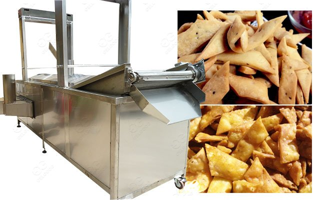 Stainless Automatic Snack Frying Machine for Namkeen Production